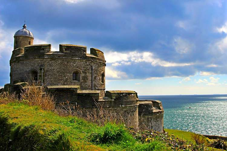 Getting Married Inside a Cornish Castle